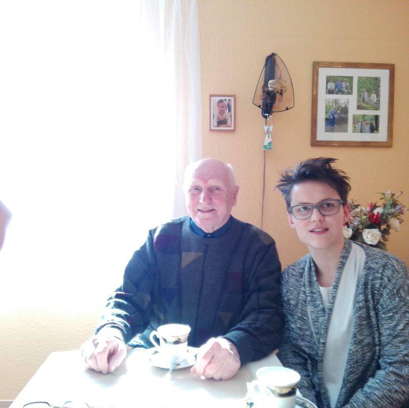 Pan Alfred i Ewelina. Fot:Beno Benczew