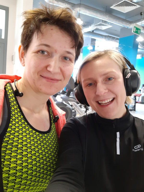 Monika Kurdej i Katarzyna Błaszczyk