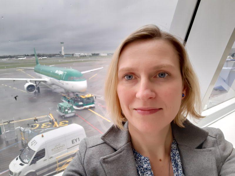Katarzyna Błaszczyk w drodze na preselekcję IFC w Irlandii