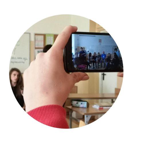 Warsztaty profilaktyczno-medialne w Niepublicznej Szkole STO w Rembertowie