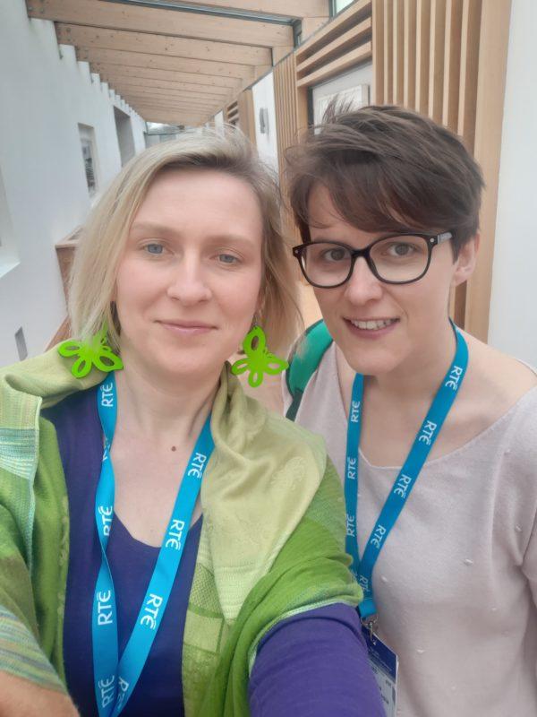 Katarzyna Błaszczyk i Ewelina Kosałka - Passia na IFC 2019. Już wtedy rosła popularność podcastów.