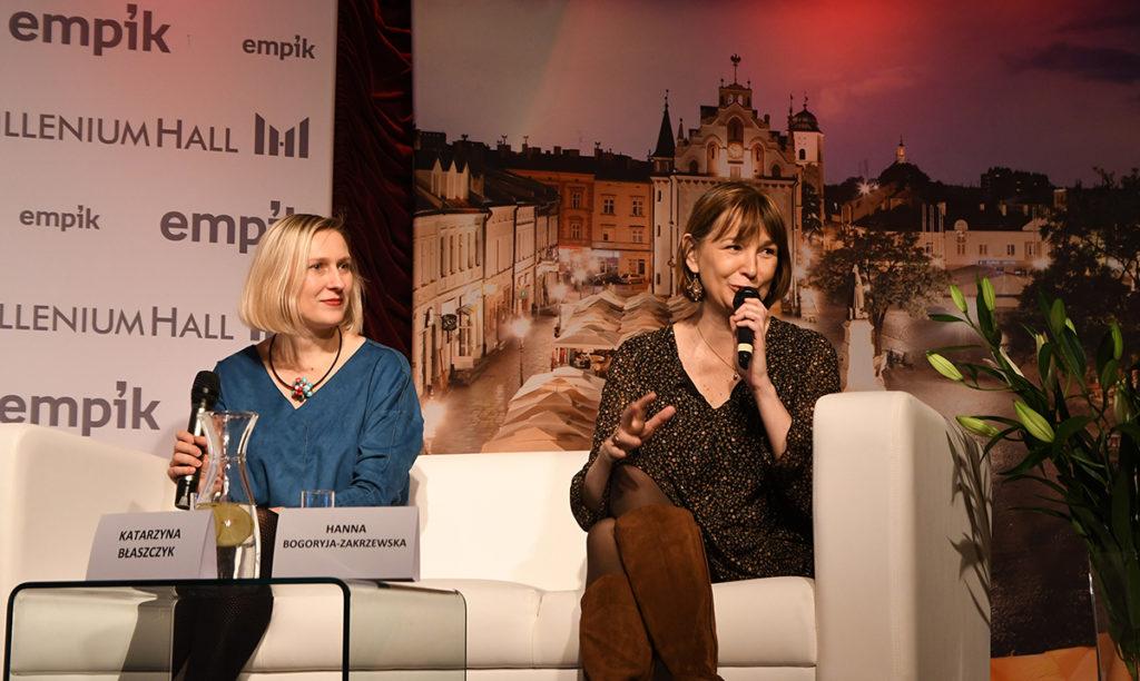 Hanna Bogoryja-Zakrzewska i Katarzyna Błaszczyk