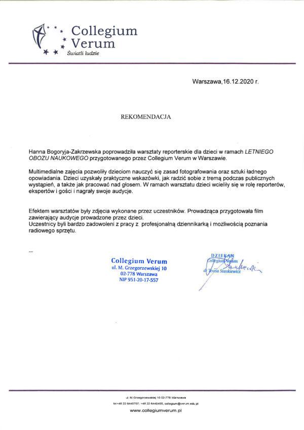 Colegium Verum